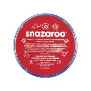 Farba do malowania twarzy Snazaroo 18ml czerwona BRIGHT RED