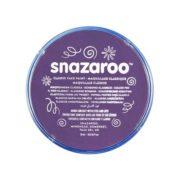 Farba do malowania twarzy Snazaroo 18ml purpurowa PURPLE