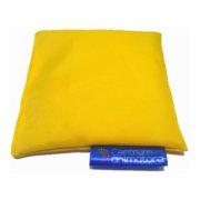 Woreczek gimnastyczny z grochem 1szt żółty