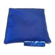 Woreczek gimnastyczny z grochem 1szt niebieski