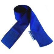 Szarfa gimnastyczna szkolna na rzep 120cm 1szt niebieska