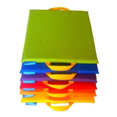 Zestaw podkładek poduszek do siedzenia dla dzieci 6 szt