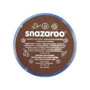 Farba do malowania twarzy Snazaroo 18ml brązowa jasna LIGHT BROWN