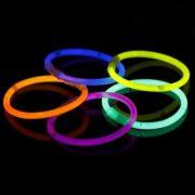 Bransoletki świecące neonowe światło chemiczne 10szt