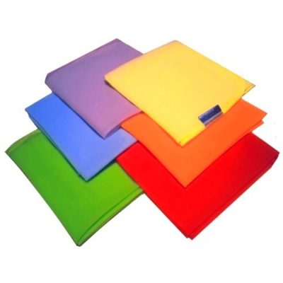 Chustki do tańca i żonglowania 6 kolorów 6 szt