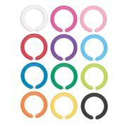 Balony długie rurki do modelowania Gemar 350Q 100szt mix kolorów