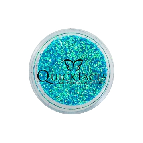 Brokat do twarzy i ciała QuickFaces Opal Sea Blue