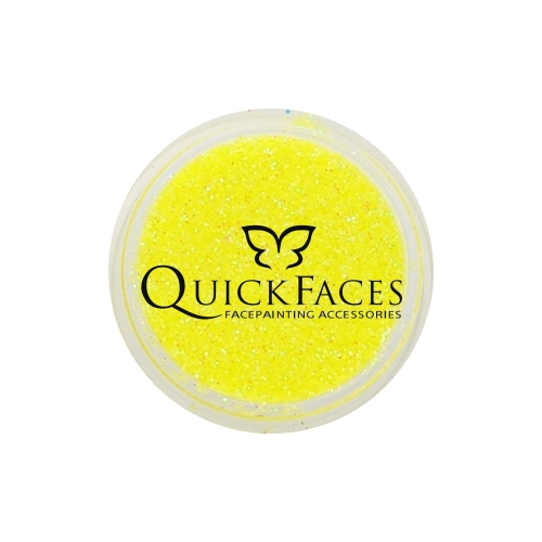 Brokat do twarzy i ciała QuickFaces Opal Yellow
