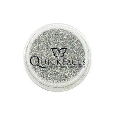 Brokat do twarzy i ciała QuickFaces Silver