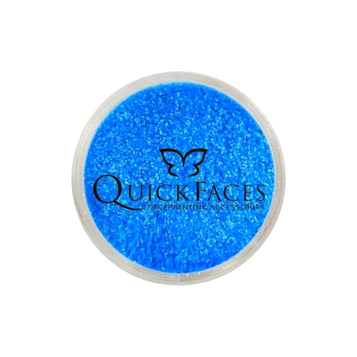 Brokat do twarzy i ciała QuickFaces Neon Blue UV