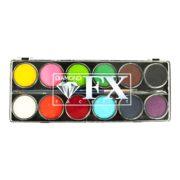 Farby do twarzy DiamondFX Paletka Essential 12x10g