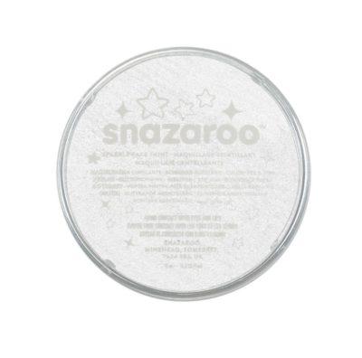 Farba do malowania twarzy Snazaroo 18ml turkusowa z połyskiem SPARKLE WHITE