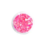 Brokat QuickFaces Chunky Glitter Flamingo Pink