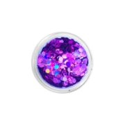 Brokat QuickFaces Chunky Glitter Tropical Orchid