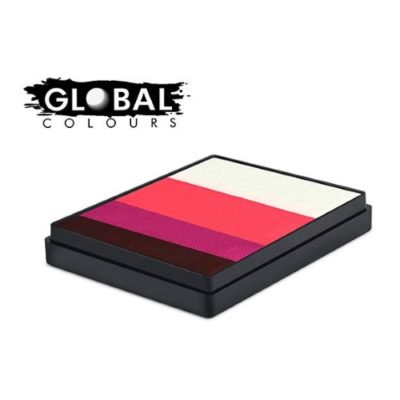 Farba do twarzy GLOBAL Rainbowcake Norway