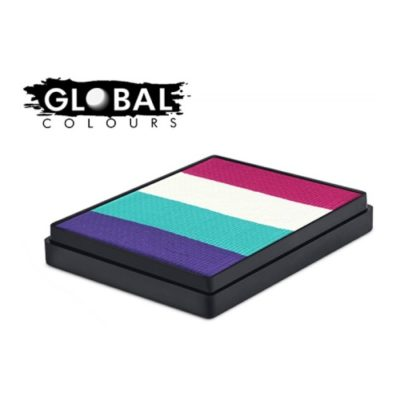 Farba do twarzy GLOBAL Rainbowcake Provance