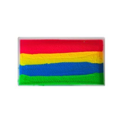 Farby do twarzy DiamondFX Splitcake 30g Neon Rainbow