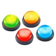 Świecące dźwiękowe przyciski grzybki 4szt