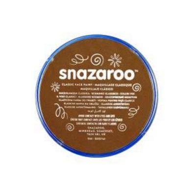 Farba do malowania twarzy Snazaroo 18ml beżowy brąz BEIGE BROWN