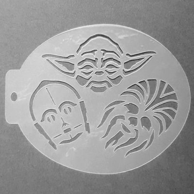 Szablon do malowania twarzy Gwiezdne Wojny III