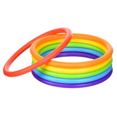 Miękkie ringo 6 kolorów 6 sztuk