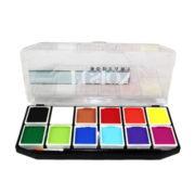 Paletka FUSION Body Art Palette podstawowa 12 kolorów