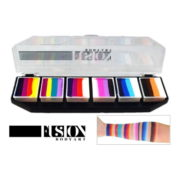 Paletka FUSION Body Art Palette Rainbow Splash