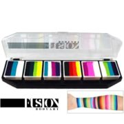 Paletka FUSION Body Art Palette Rainbow Burst