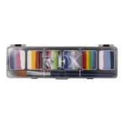 Farby do twarzy DiamondFX Paletka Splitcake Sparkle 6x6g